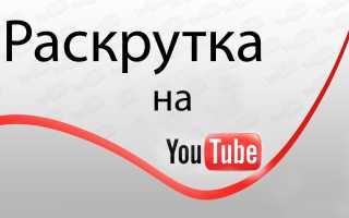 Эффективные способы для раскрутки канала на Ютубе