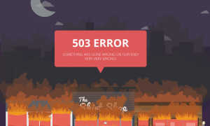 Ошибка 503 в YouTube