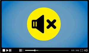 Эффективный способ удаления звука на Ютубе