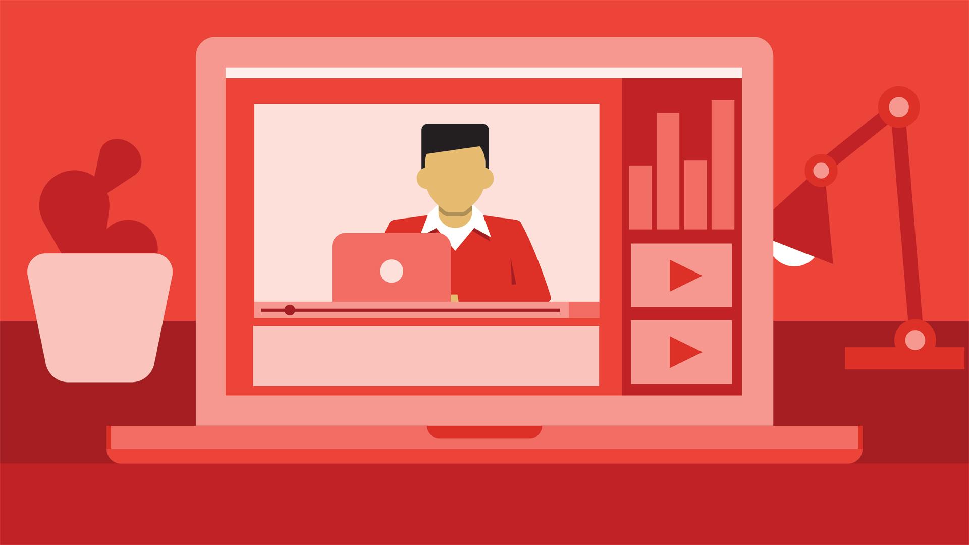 Иллюстрация на тему С чего начать Ютуб канал: создание с нуля, пошаговая инструкция