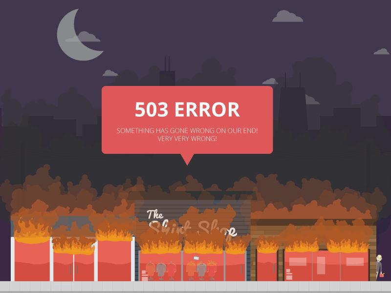 Иллюстрация на тему Код ошибки 503 Ютуб, что значит, причины возникновения