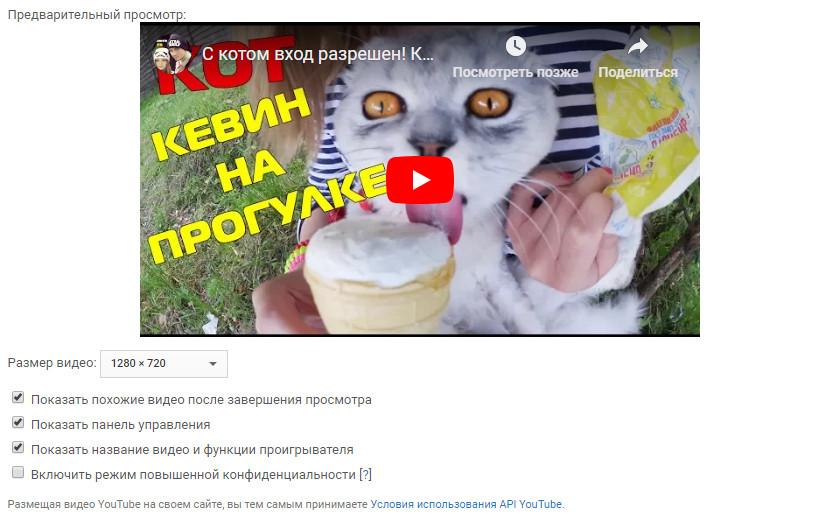 Иллюстрация на тему Как вставить видео с Ютуба на сайт: html, вордпресс, код