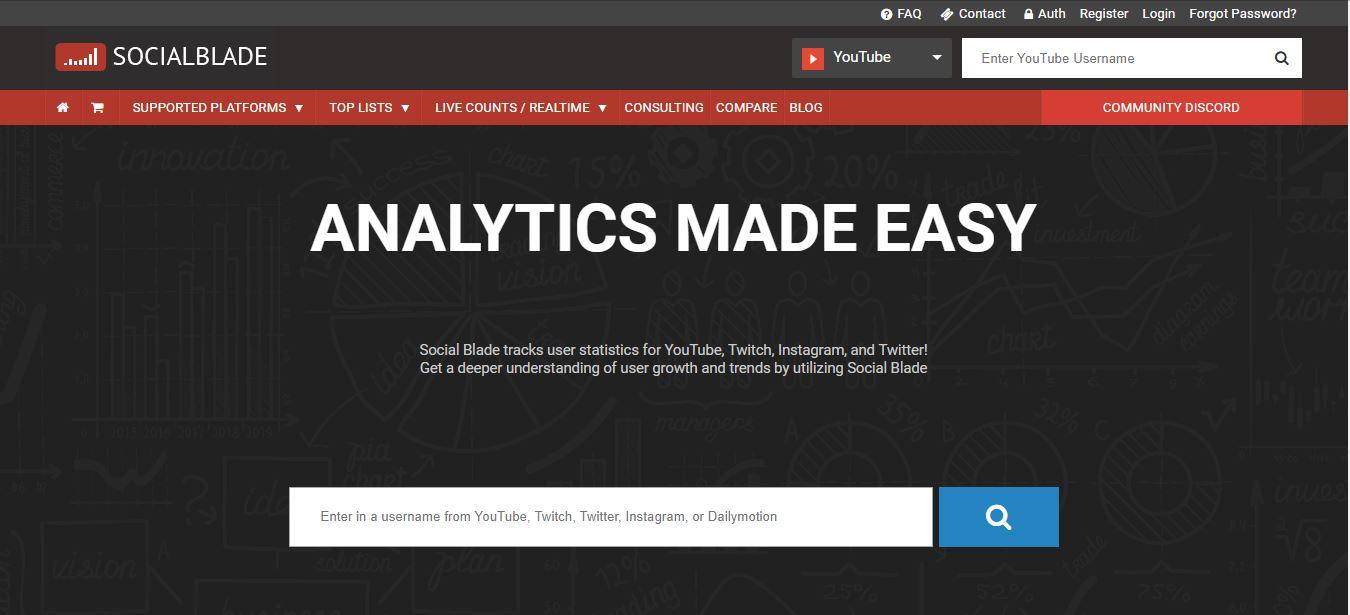 Иллюстрация на тему Топ блогеров Ютуб: сервисы для просмотра статистики известных ютуберов